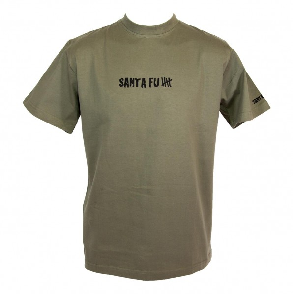 """T-Shirt oliv, """"Santa Fu"""""""
